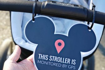 Printable Stroller Sign for Disneyland