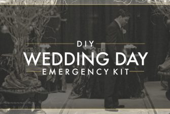 DIY Wedding Day Emergency Kit