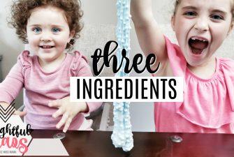 EASY Slime Recipe (3 Ingredients)