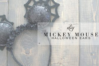 DIY Mickey Ears for Halloween