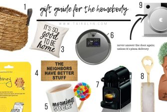 2018 Gift Guide for Homebodies
