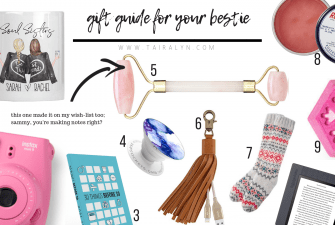 2018 Gift Guide for your Bestie