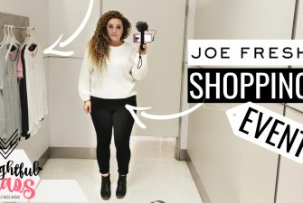 VIP Joe Fresh Shopping Event #JoeFreshFall