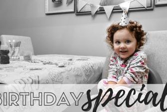 BIRTHDAY TRADITION: Stella Turns Two