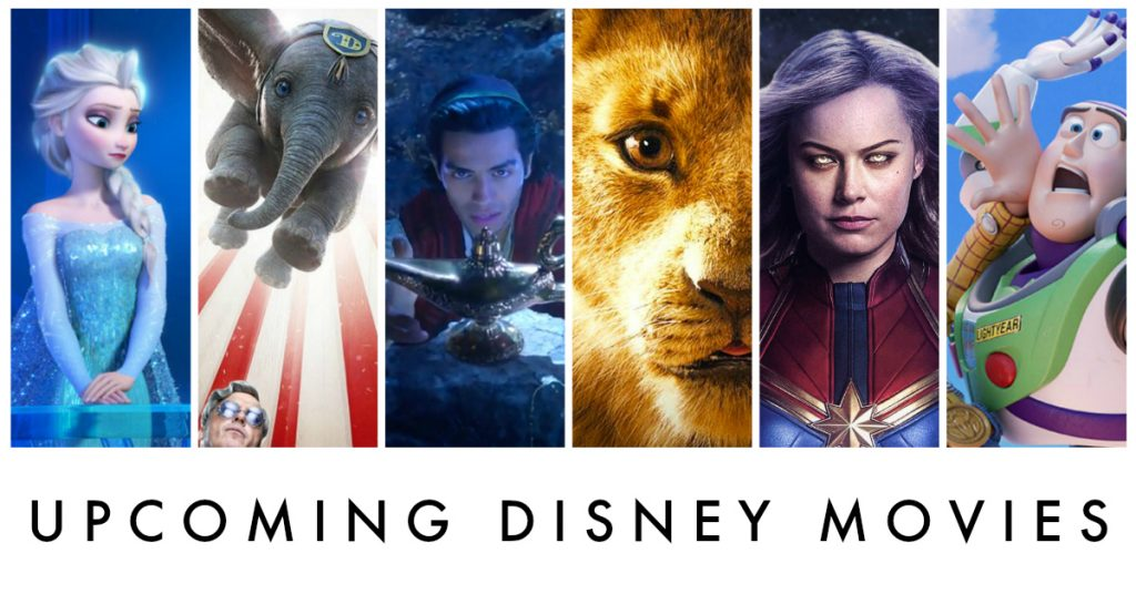 Upcoming Disney Movies
