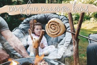 We Made Campfire Cinnamon Buns